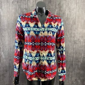 BDG Urban Outfitters Southwestern Button Down Top